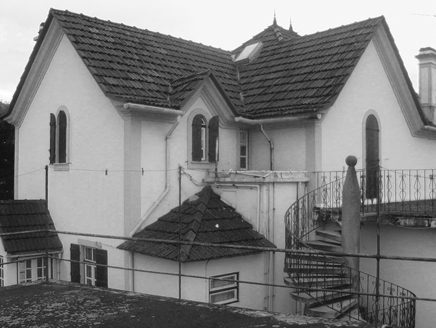 Casa em lanhelas topos atelier de arquitectura - Atelier arquitectura ...