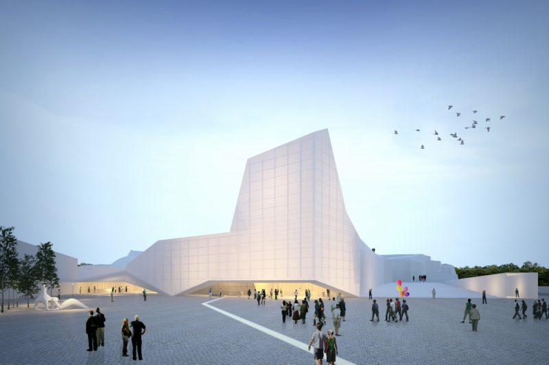 Honorable Mention International Architecture Competition KIP ISLAND AUDITORIUM