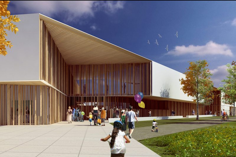 1st Prize Design Competition for School Buildings in Paris